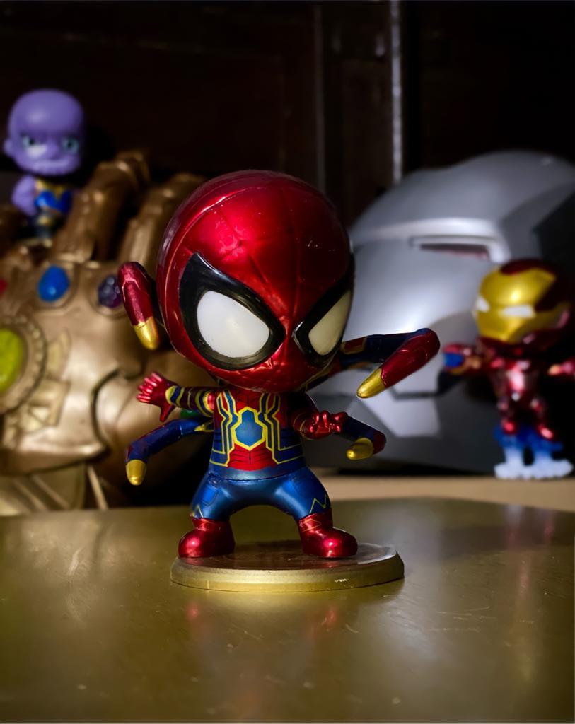 Estátua Homem-Aranha Iron Spider: Vingadores Guerra Infinita (Avengers Infinity War) Marvel Comics - Cosbaby