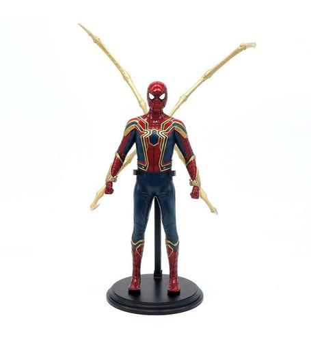 Estátua Homem Aranha Spider-Man Iron Spider: Vingadores Ultimato Avengers Endgame Escala 1/6 - Empire Toys