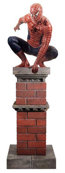 Estátua Homem-Aranha (Spider-Man) Life Size: Homem-Aranha (Spider-Man Movie) - (Escala 1/1) (Apenas Venda Online)