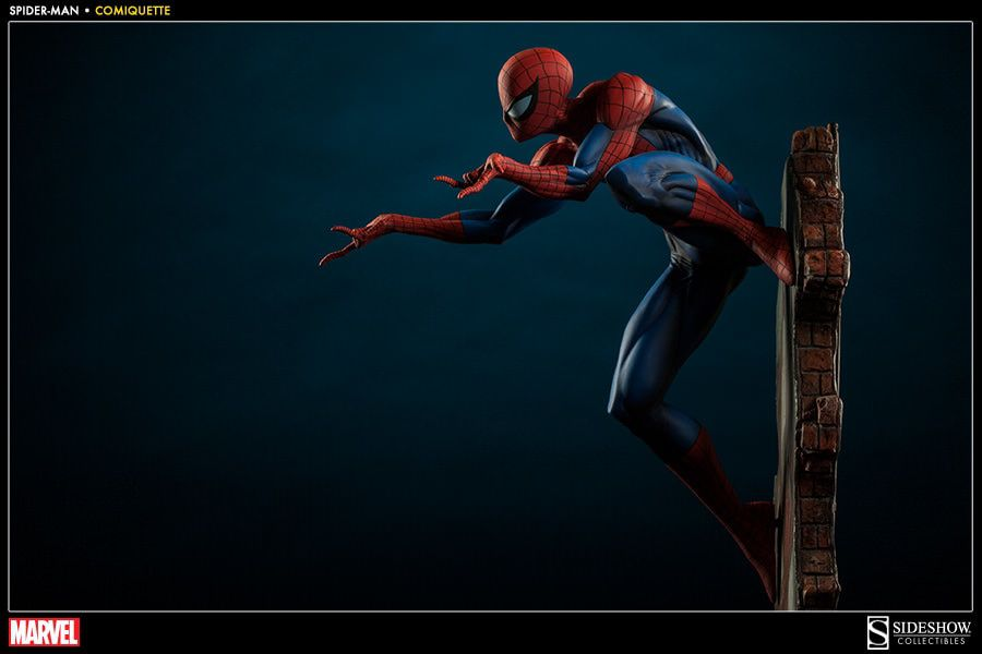 Estátua Homem Aranha (Spider-Man): Marvel Collectibles (Comiquette) - Sideshow