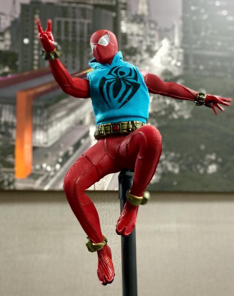 Estátua Homem-Aranha Spider-man Scarlet Spider Aranha Escarlate Ben Reilly Marvel Escala 1/6 - Team Of Prototyping - EV