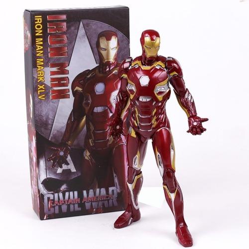 Estátua Homem De Ferro Iron Man Mark 45: Vingadores A Era De Ultron Avengers Age Of Ultron Escala 1/6 Marvel - Crazy Toys - MKP