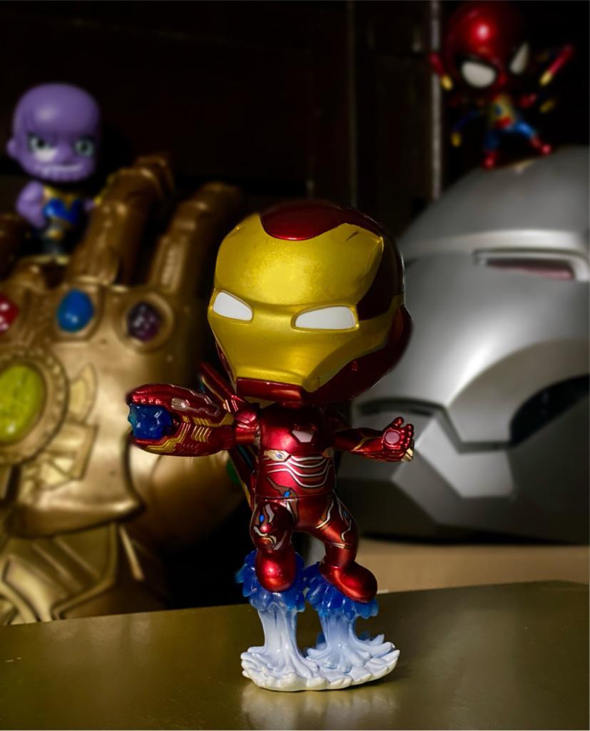 Estátua Homem de Ferro Iron Man Mark L: Vingadores Guerra Infinita (Avengers Infinity War) Marvel Comics - Cosbaby