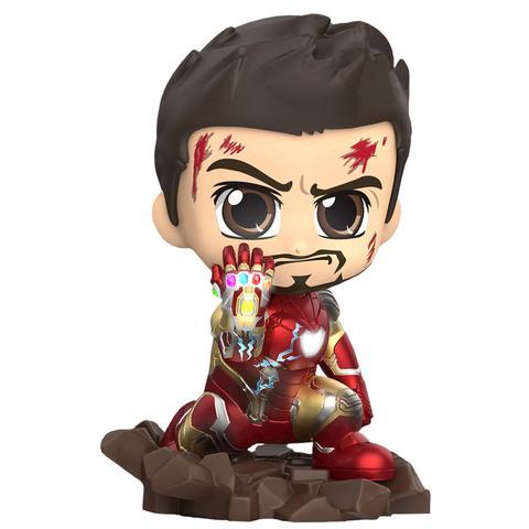 Estátua Homem de Ferro (Iron Man) Traje de Batalha (Mark LXXXV): Vigadores Ultimato - Cosbaby