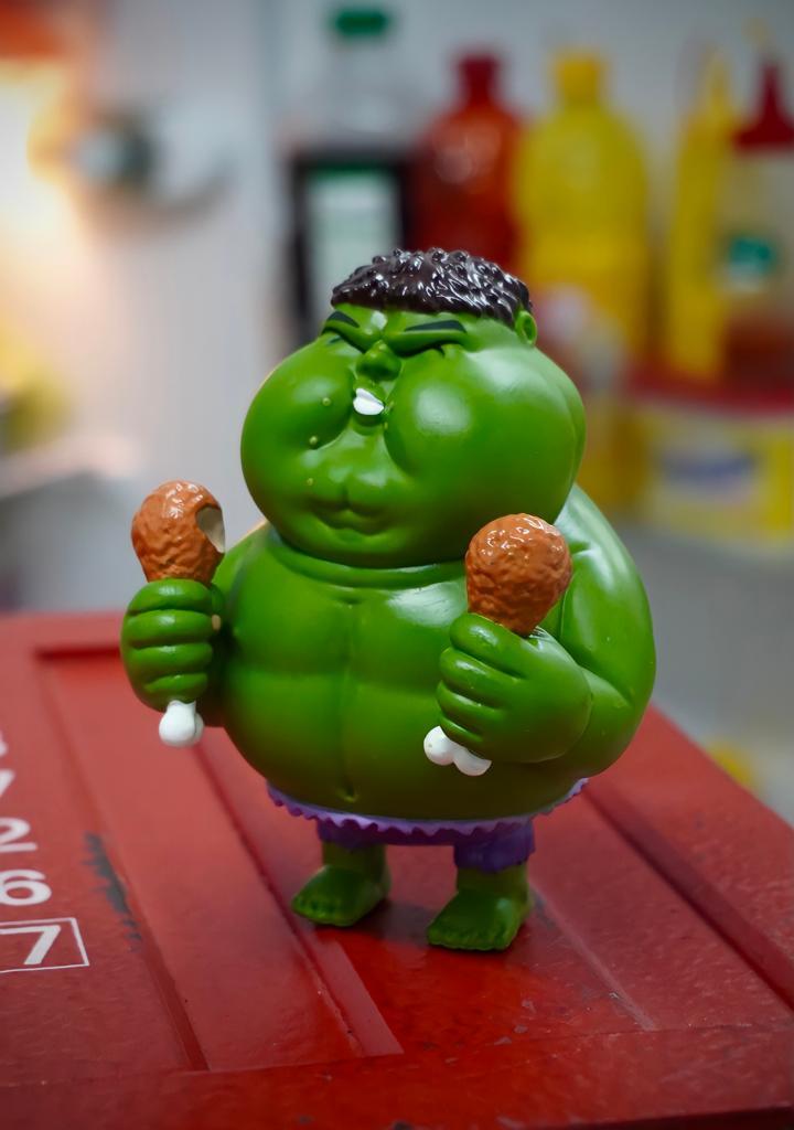 Estátua Hulk Gordo Fat Hulk: Marvel Vingadores Avengers - Chubbiness - MKP