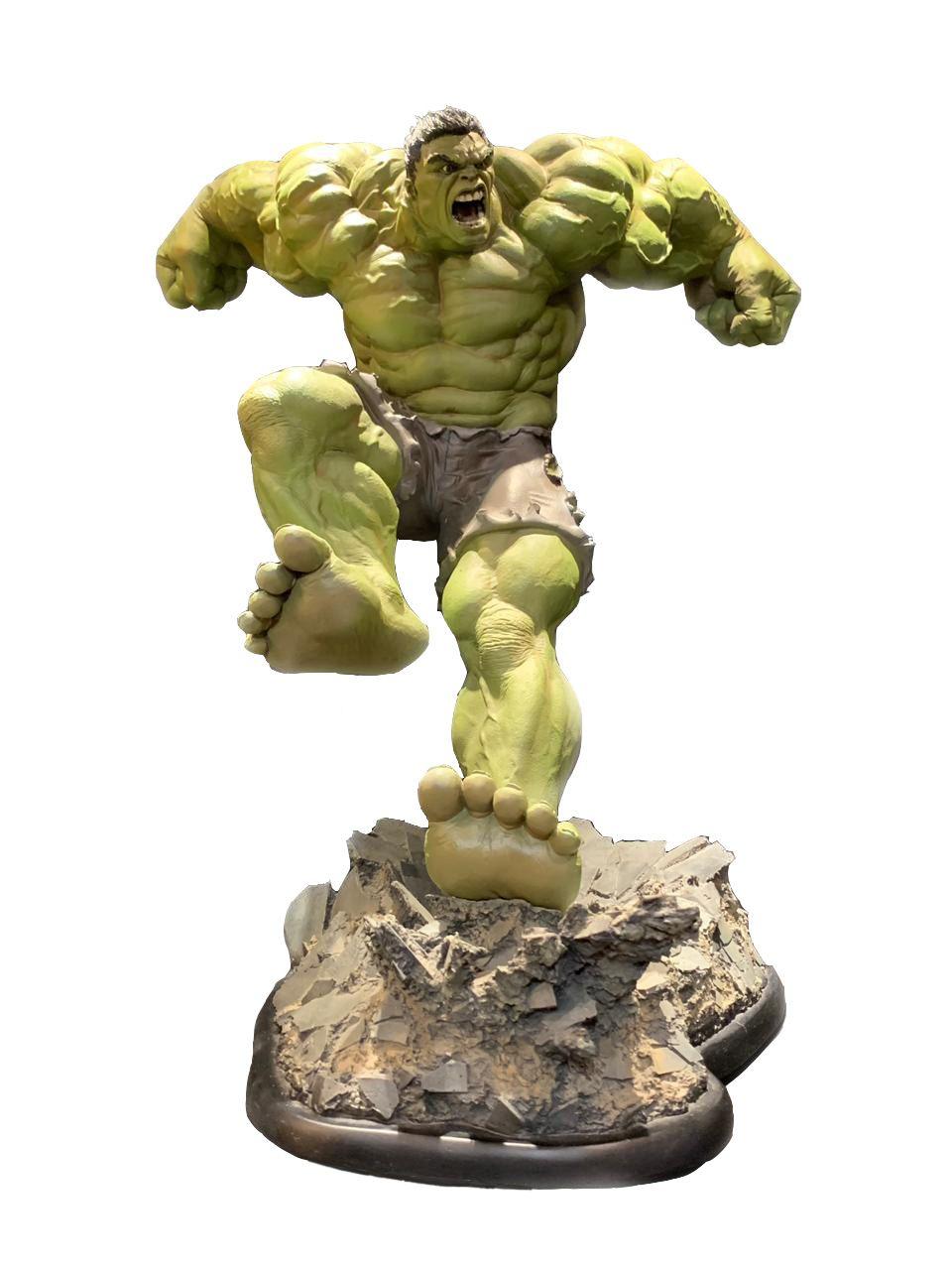 Estátua Hulk (Repaint): Marvel Collectibles (Comiquette) - Sideshow
