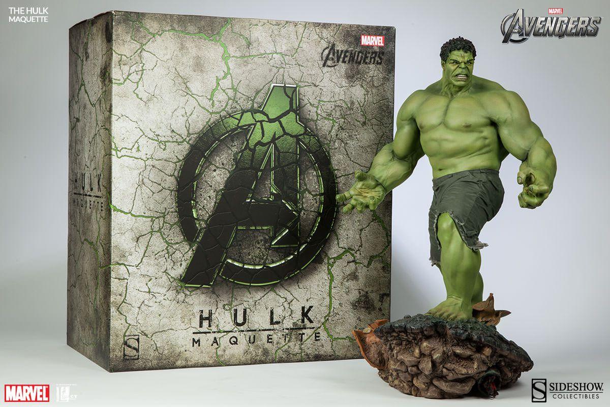 Estátua Hulk: Vingadores (Avengers) Marvel Collectibles (Maquette) - Sideshow