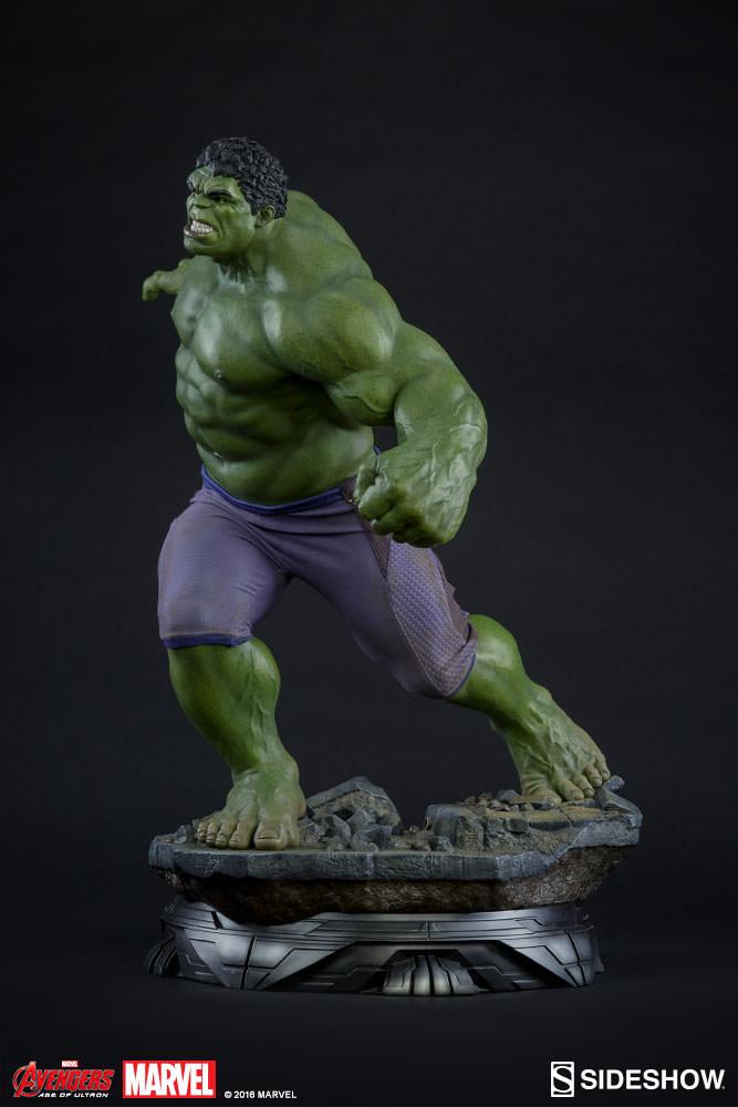 Estátua Hulk: Vingadores Era de Ultron (Maquette Statue) - Sideshow