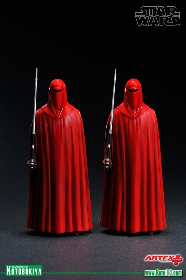 Estátua Imperador Royal Guard: Star Wars ArtFX+ Statue Escala 1/10 (2 Pack) - Kotobukiya - CG