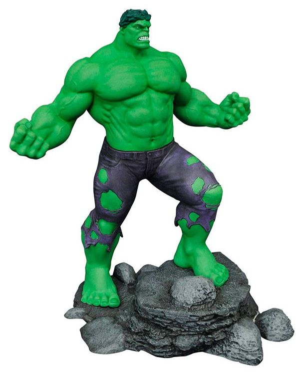 Estátua Incrível Hulk (The Incredible Hulk): Marvel Gallery - Diamond Select