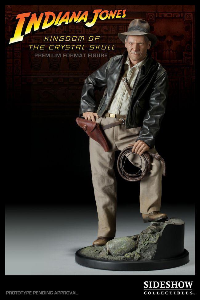 Estátua Indiana Jones: Indiana Jones e o Reino da Caveira de Cristal (Premium Format) - Sideshow - CG
