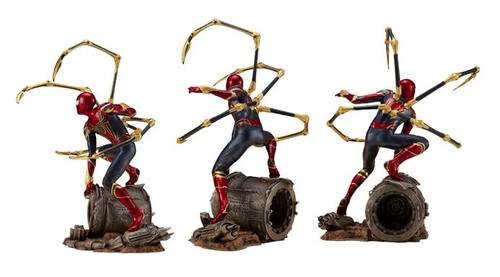 Estátua Aranha de Ferro (Iron Spider): Vingadores: Guerra Infinita (Avengers 3 Infinity War) ArtFX+ - Escala 1/10 - Kotobukiya