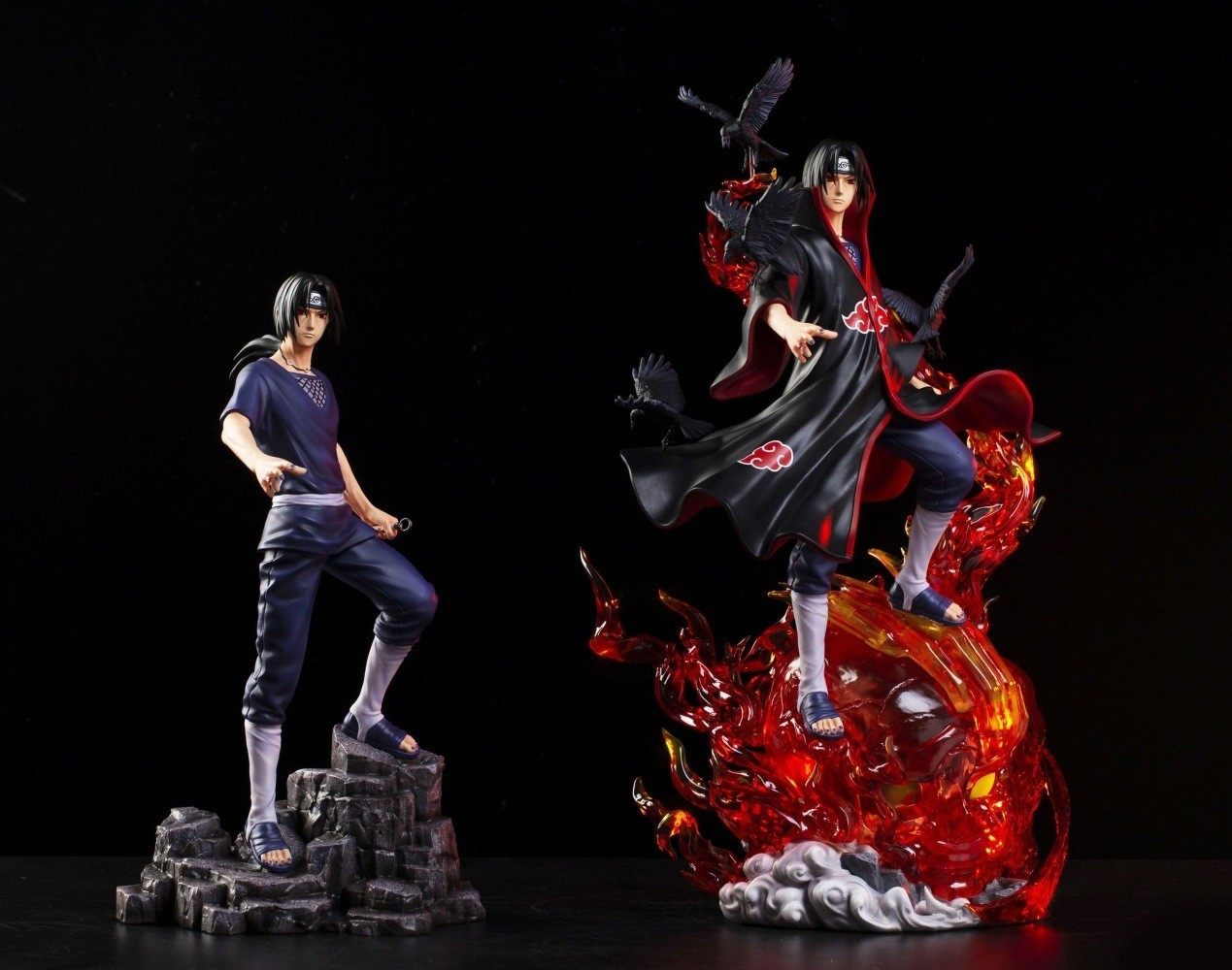 PRÉ VENDA: Estátua Itachi Uchiha: Naruto Shippuden - BW Studio