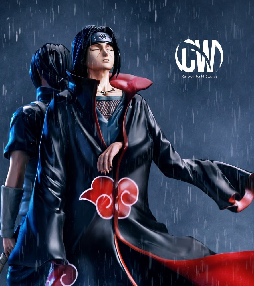 PRÉ VENDA: Estátua Itachi Uchiha: Naruto Shippuden - CW Studio