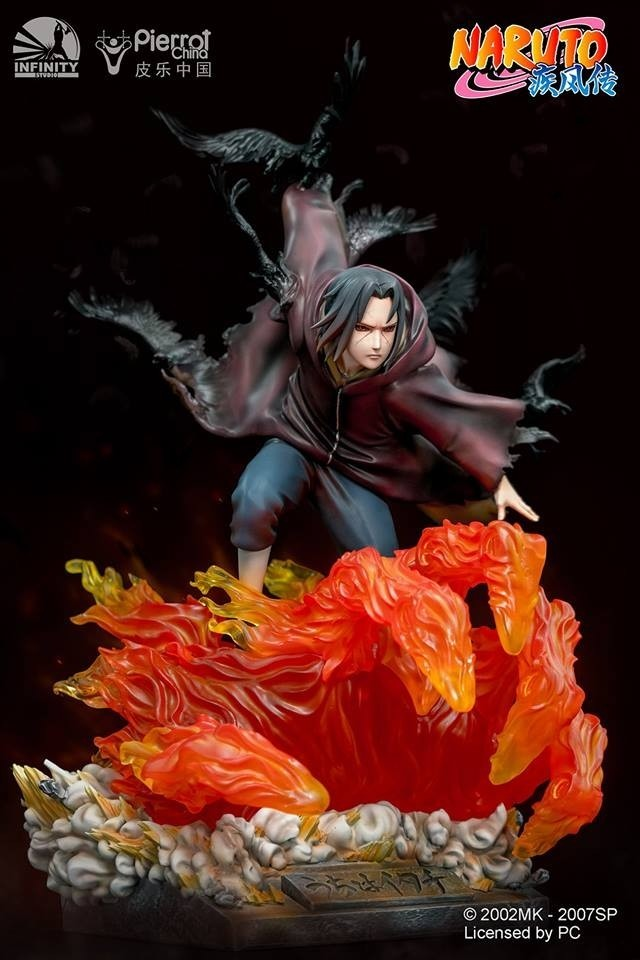 PRÉ VENDA: Estátua Itachi Uchiha: Naruto Shippuden Escala 1/6 - Infinity Studio
