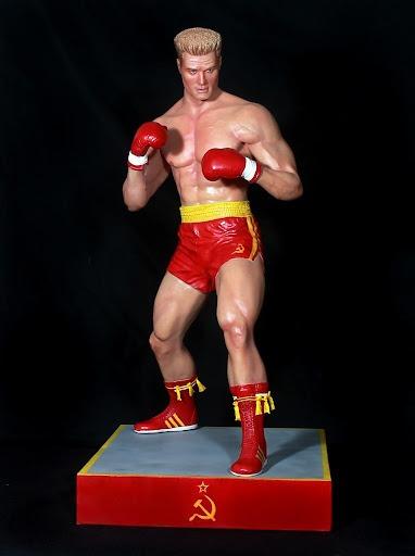 Estátua Ivan Drago: Rocky Balboa Escala 1/4 - Hollywood Collectibles - EV