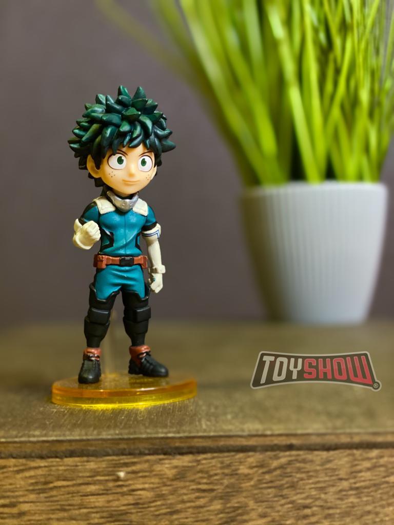 Estátua Izuku Midoriya: Boku no Hero Academia (My Hero Academia) WCF - Banpresto