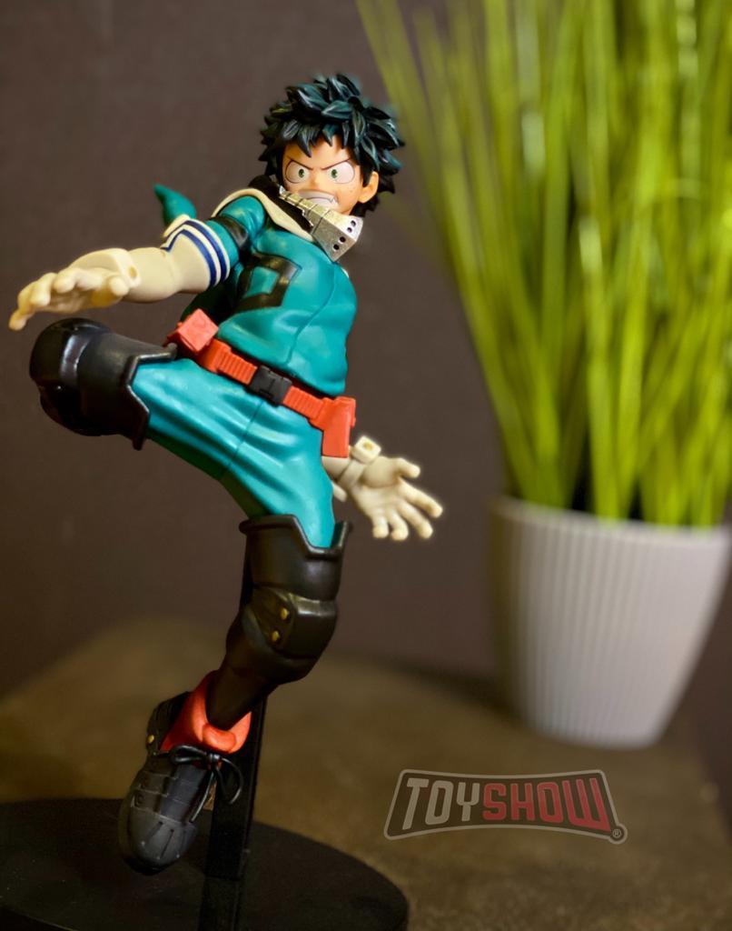 Estátua Izuku Midoriya: My Hero Academia (King of Artist) Anime Mangá - Banpresto Bandai