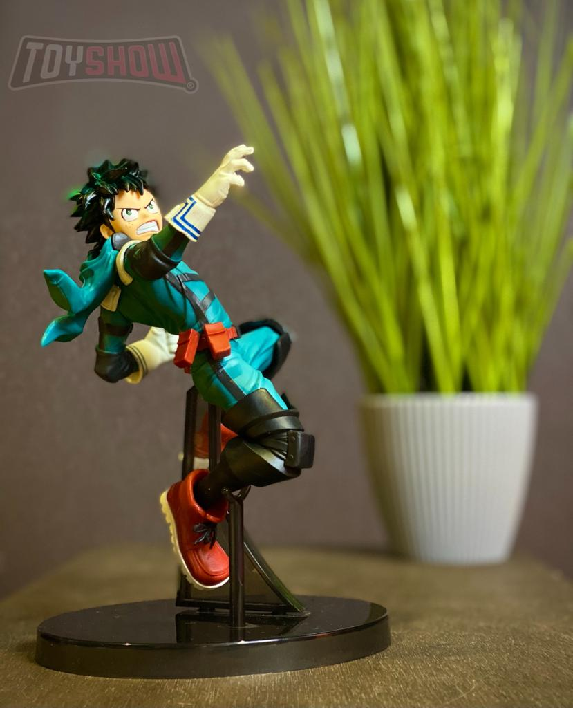 Estátua Izuku Midoriya (The Amazing Heroes): Boku no Hero Academia (My Hero Academia) - Banpresto