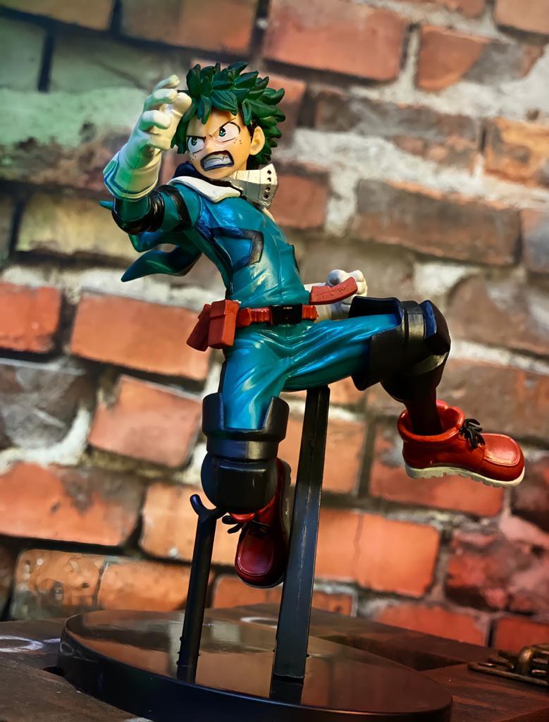 Estátua Izuku Midoriya The Amazing Heroes Vol 1: Boku no Hero Academia My Hero Academia - Banpresto