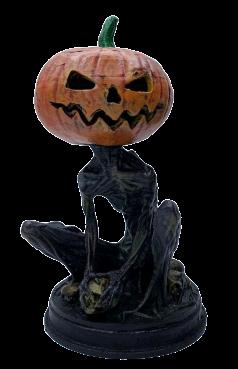Estátua Jack Lanterna (Jack-o'-lantern): Halloween