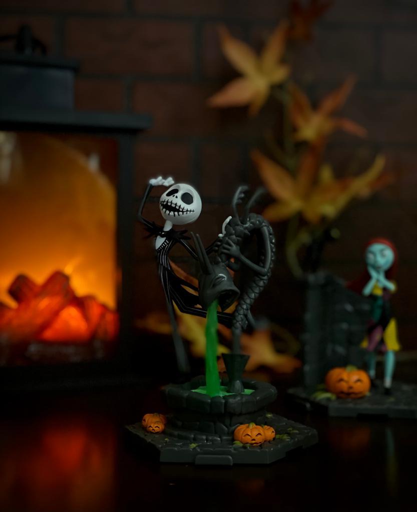 Estátua Jack Skellington 018: O Estranho Mundo de Jack The Nightmare Before Christmas - Sunny