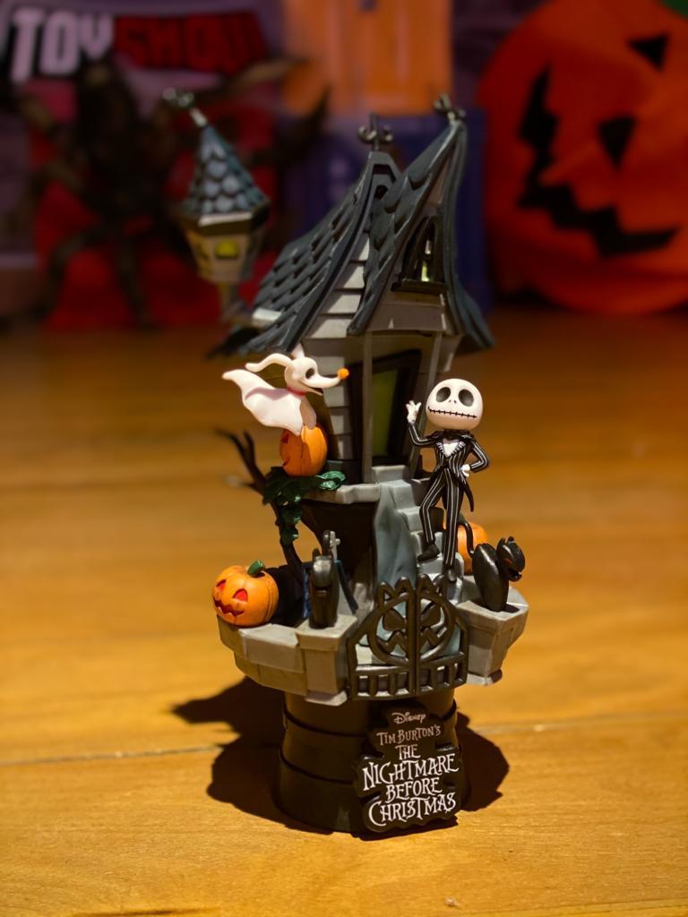 Estátua Jack Skellington:The Ninghtmare Before Christmas - D-Stage Disney - Beast Kingdom