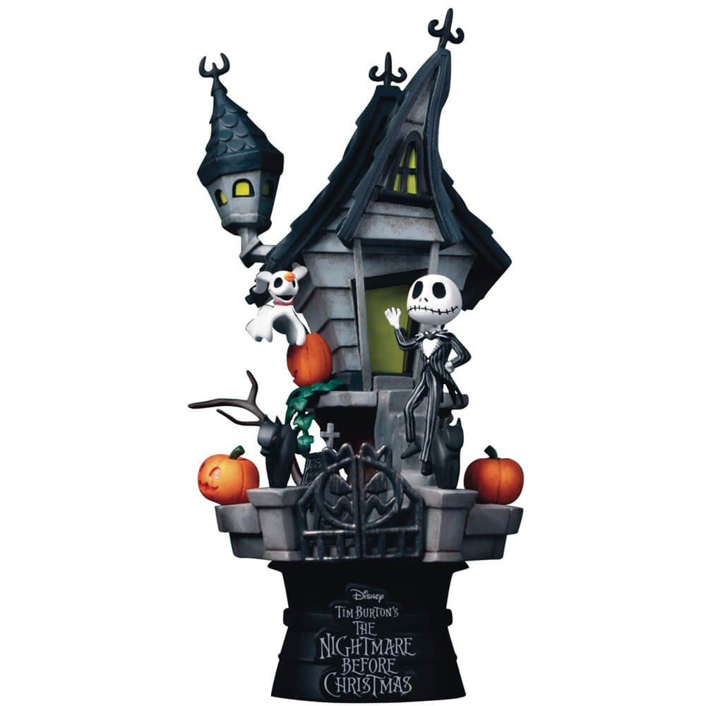 Estátua Jack Skellington:The Ninghtmare Before Christmas - D-Stage Disney - Beast Kingdom