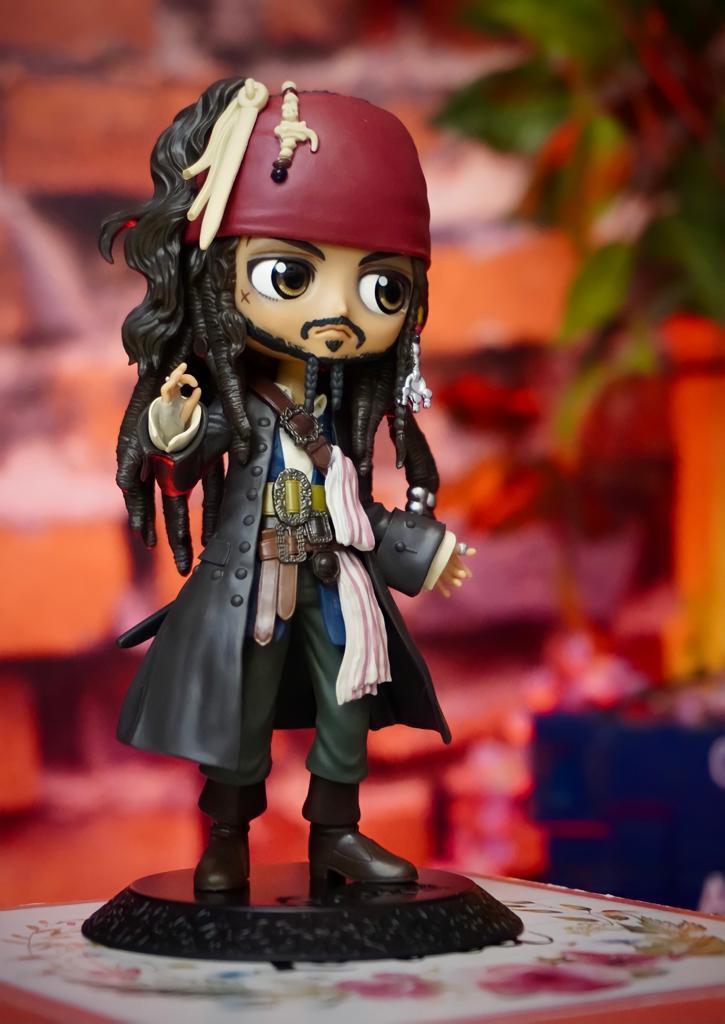 Estátua Jack Sparrow: Piratas do Caribe Pirates of the Caribbean QPosket Disney - Banpresto