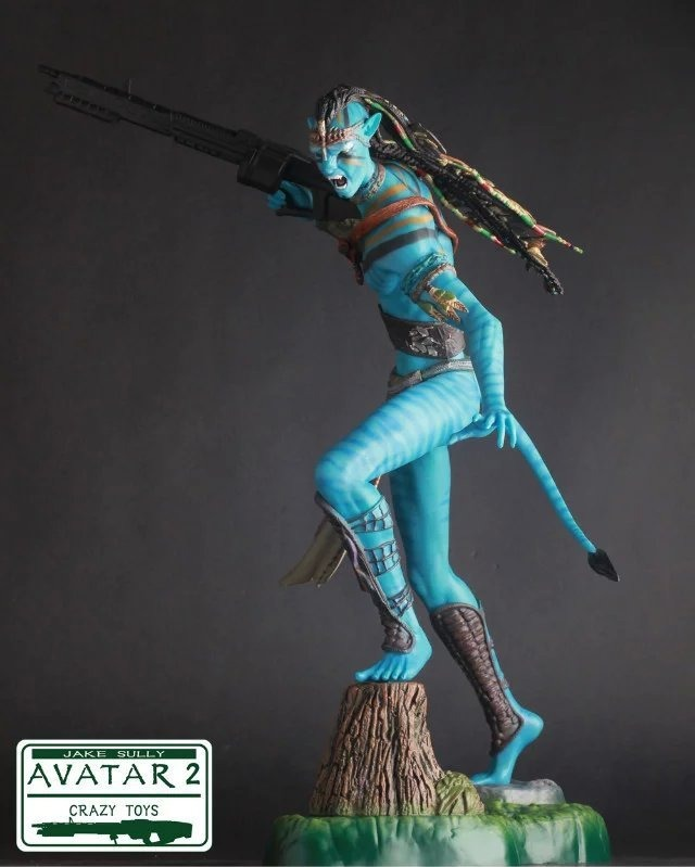 Estátua Jake Sully Navi Avatar 2 Escala 1/3 - Crazy Toys -  EVALI