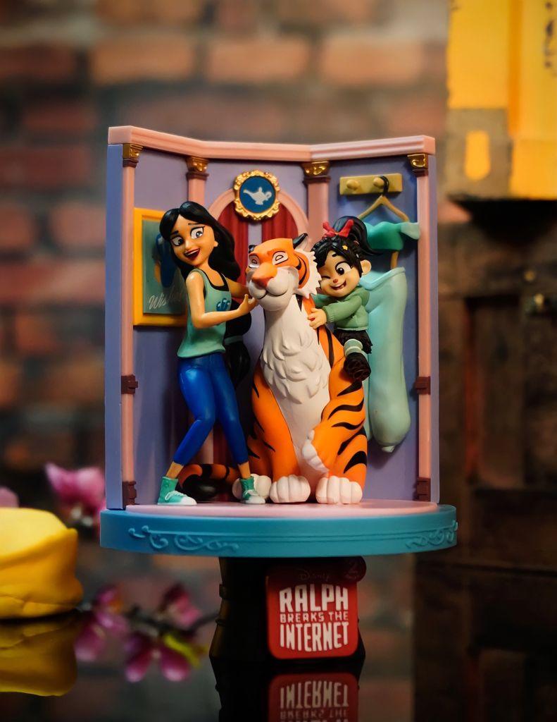Estátua Jasmine e Vanellope: WiFi Ralph - Quebrando a Internet (Ralph Breaks The Internet) DS-025 (Disney) - Beast Kingdom