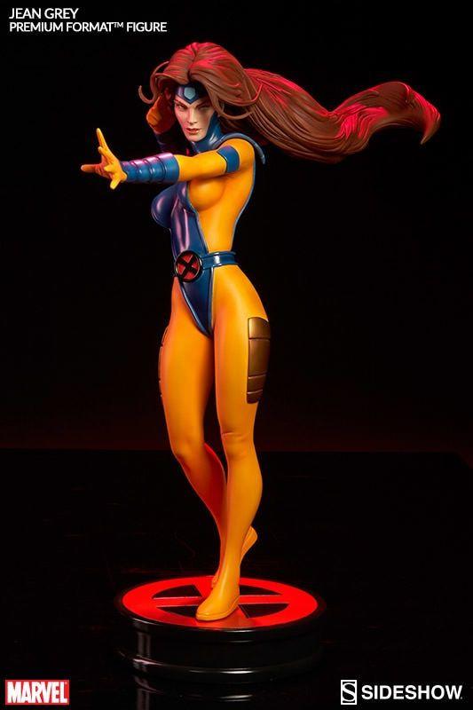 Estátua Jean Grey:  X-Men Marvel Premium Format - Sideshow (SEM CAIXA)