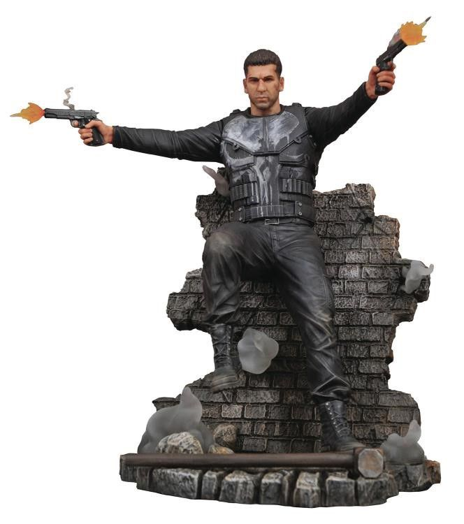 Estátua Justiceiro (Punisher): Justiceiro (Punisher) Marvel Gallery Série TV - Diamond Select