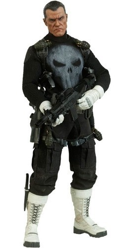 Estátua Justiceiro War Zone (Punisher War Zone): O Justiceiro Escala 1/6  - Crazy Toys