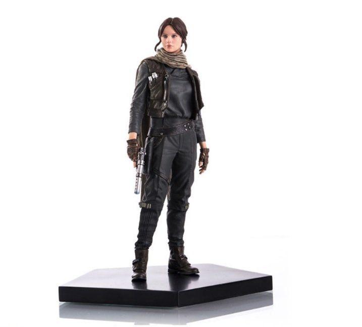 Estátua Jyn Erso: Star Wars: Rogue One Art Scale Escala 1/10 - Iron Studios