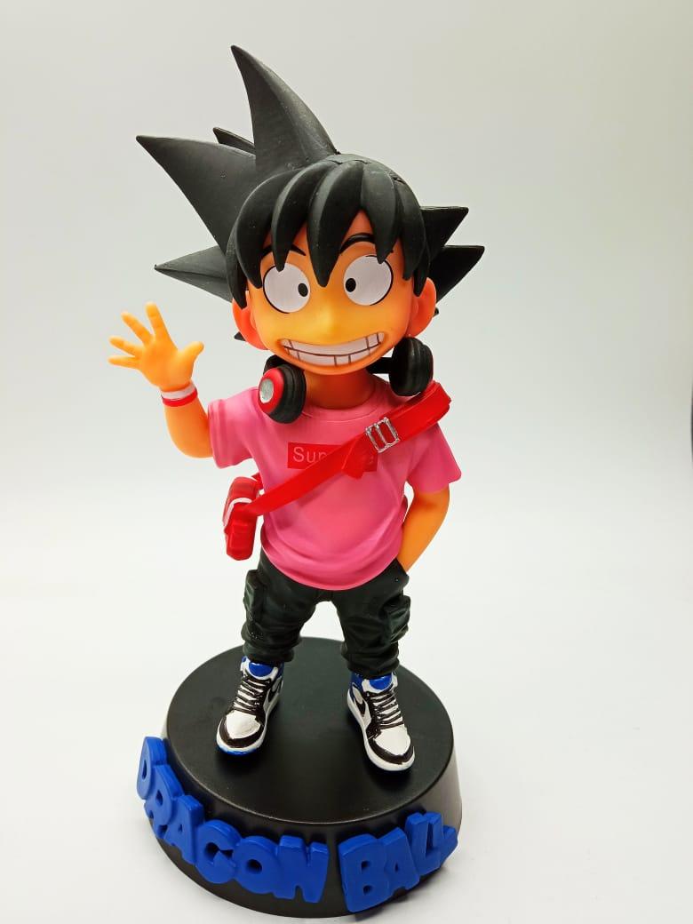 Estátua Kid (Criança) Son Goku ''Supreme Rosa'': Dragon Ball
