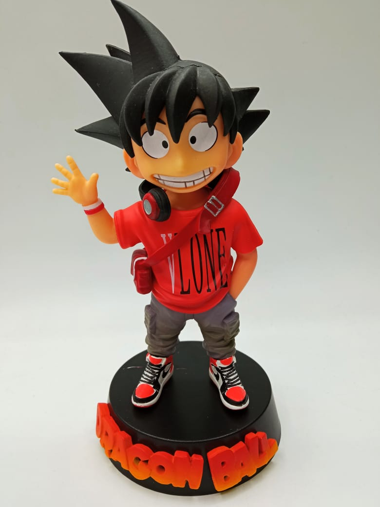 Estátua Kid (Criança) Son Goku ''VLONE'': Dragon Ball