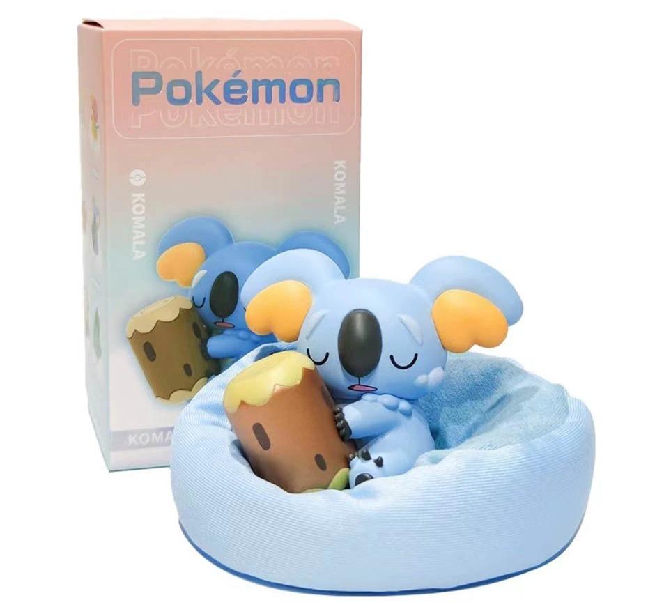 Estátua Komala Pokémon Série dos Sonhos Series Dream 7 cm - EVALI