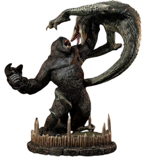 Estátua Kong vs SkullCrawler:  Kong - Prime 1 Studio