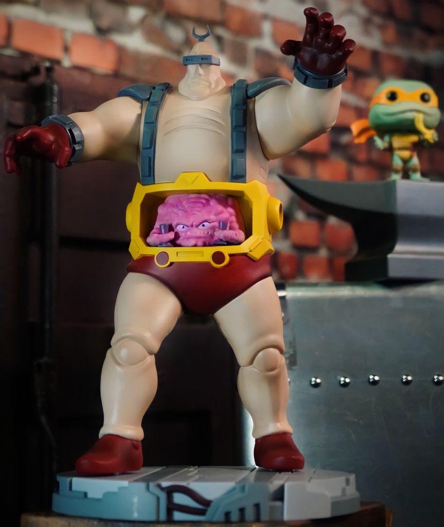 Estátua Krang: TMNT As Tartarugas Ninja Teenage Mutant Ninja Turtles - Premium Collectibles Studio
