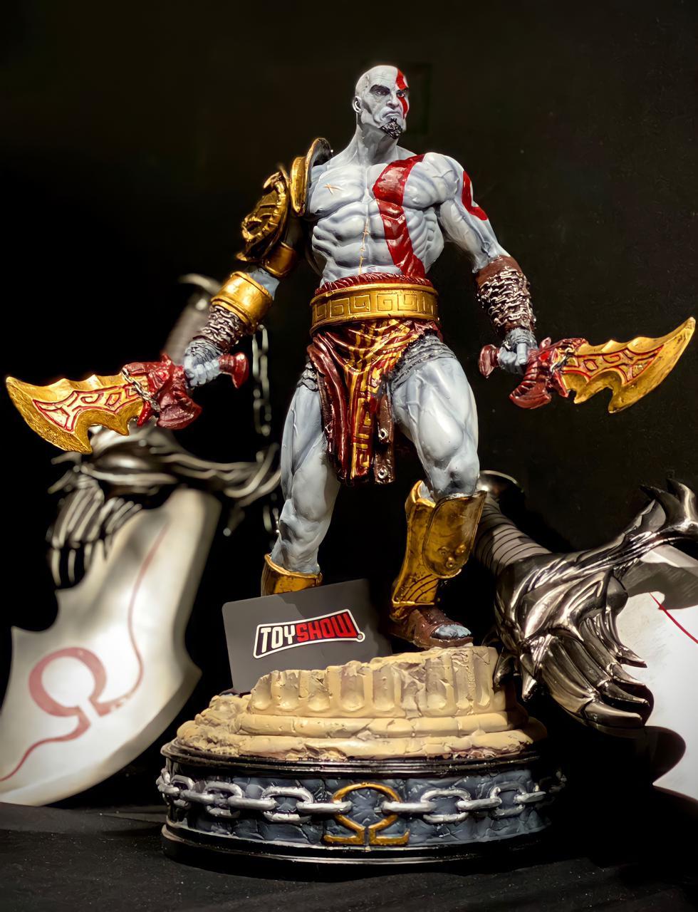Estátua Kratos ''Ghost of Sparta'': God Of War