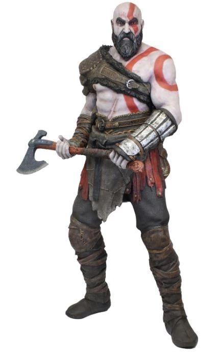 Estátua Kratos: God of War (2018) Life-Size Foam Réplica Escala 1/1 - NECA
