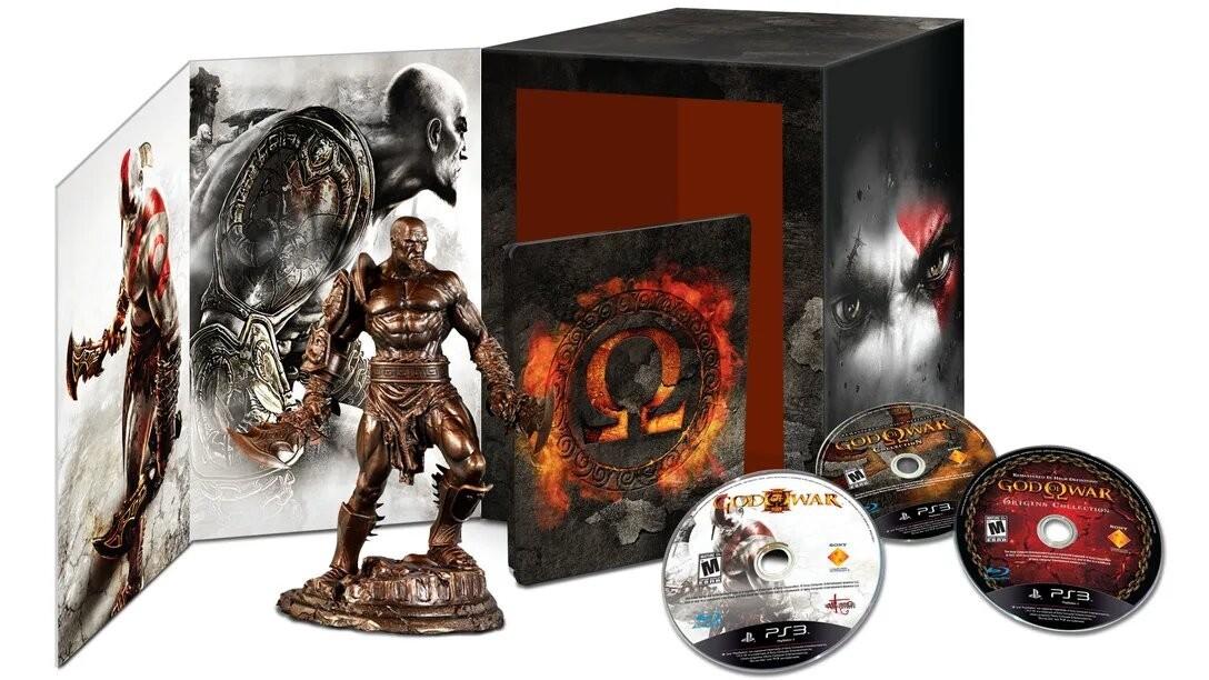Estatua Kratos: God Of War (Omega) (Coleção Limitada)