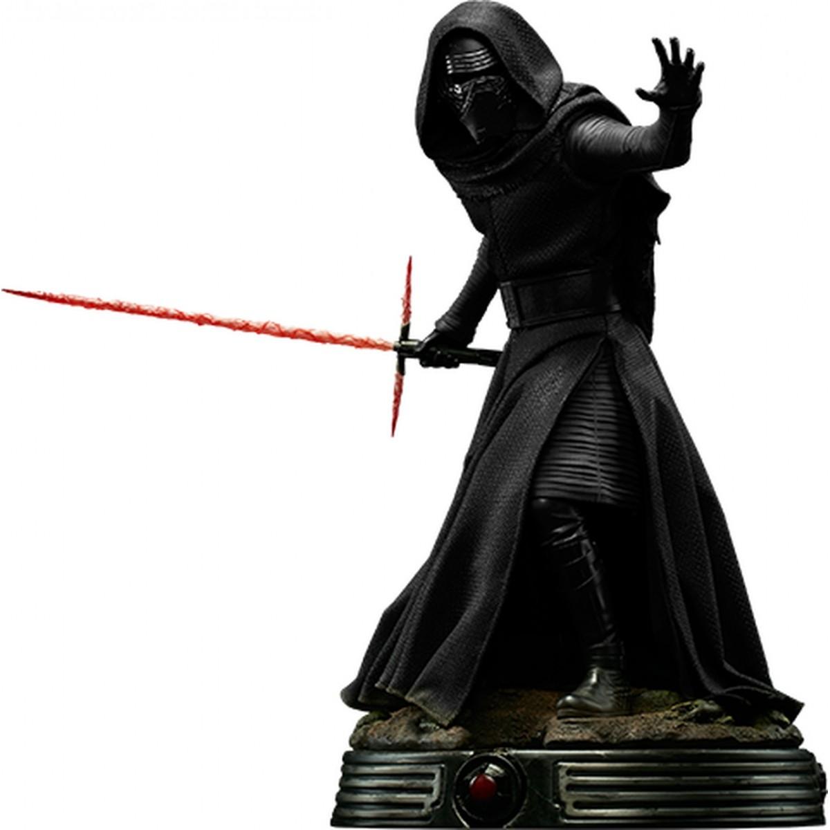 Estátua Kylo Ren: Star Wars O Despertar da Força (Premium Format) Escala 1/4 - Sideshow - CD