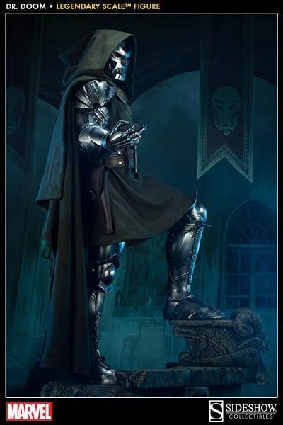 Estátua Doutor Destino (Doctor Doom) Legendary Scale Escala 1/2 - Sideshow