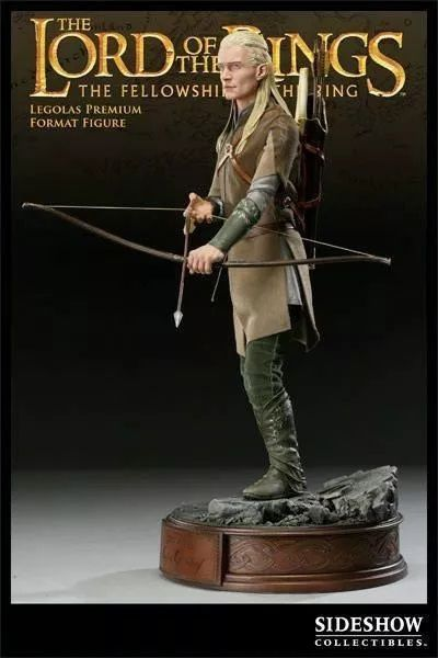 Estátua Legolas: O Senhor do Anéis (The Lord Of The Rings) (Premium Format) Escala 1/4 - Sideshow