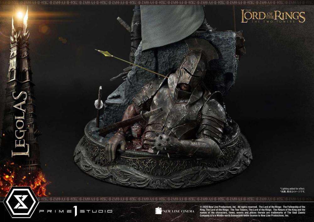 PRÉ VENDA: Estátua Légolas: O Senhor dos Anéis Premium Masterline Helm's Deep Edição Limitada Escala 1/4 - Prime 1 Studios