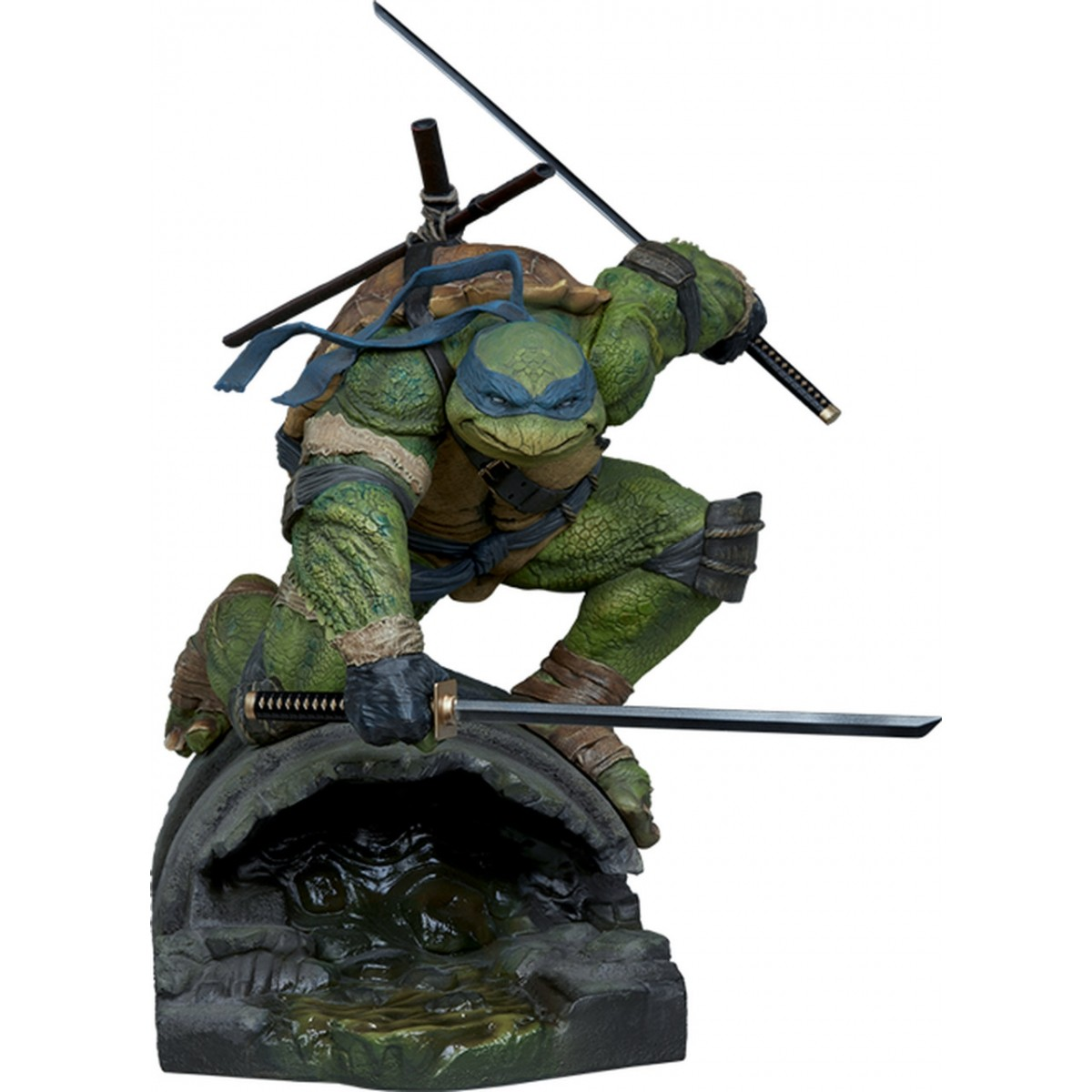 Estátua Leonardo: Tartarugas Ninjas (Teenage Mutant Ninja Turtles) - Sideshow - CD
