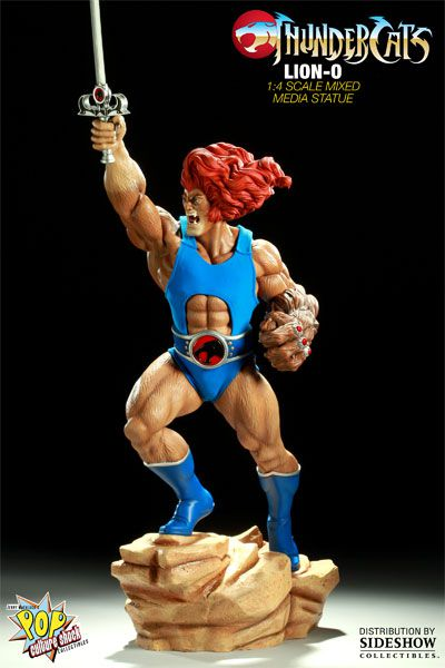 Estátua Lion-O: Thundercats  (Mixed Media) - Pop Culture Shock
