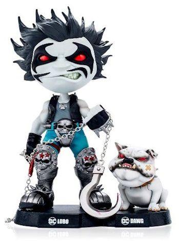 Estátua Lobo e Dawg: Dc Comics Mini Heroes - Mini Co